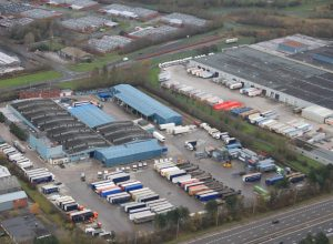 Grayalaw's 15 Acre head office and Graylaw have over 200 vehicles Distribution centre